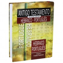Antigo Testamento Interlinear Hebraico-Português Volume 3